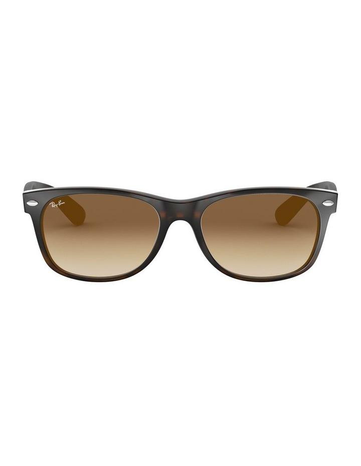 New Wayfarer Brown Sunglasses 0RB2132 1062725017 image 2