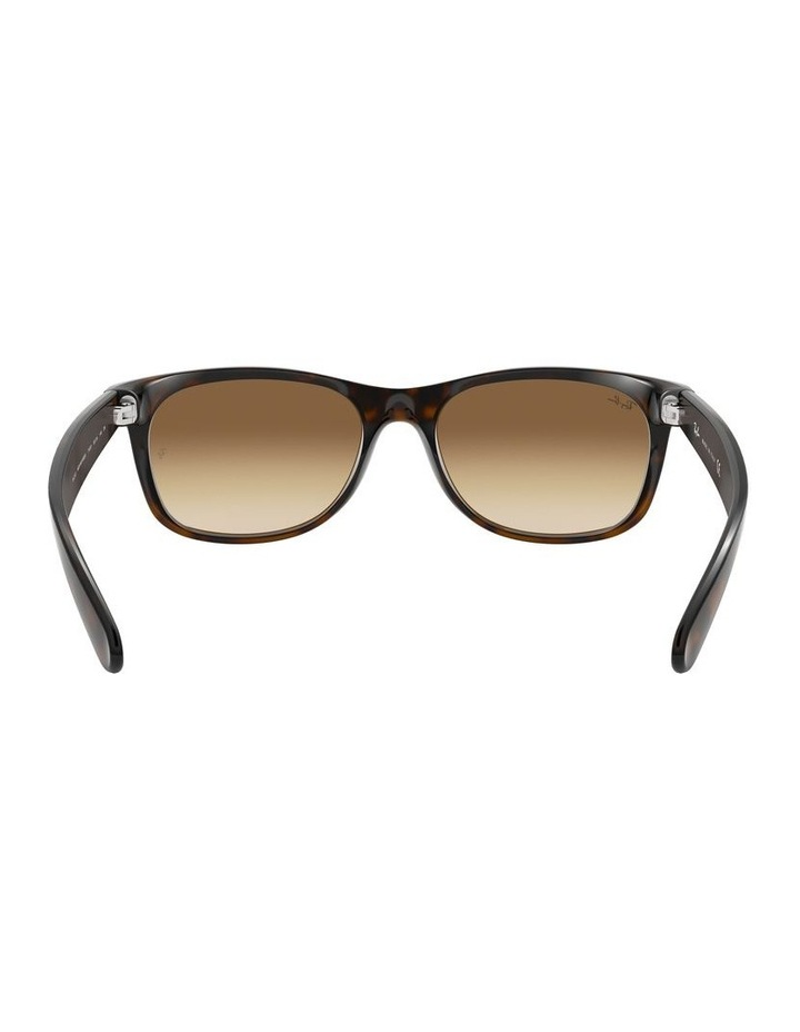 New Wayfarer Brown Sunglasses 0RB2132 1062725017 image 7