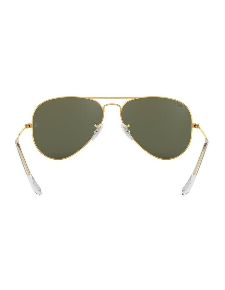 Aviator Large Metal Polarised Green Sunglasses 0RB3025 1062738031 image 7