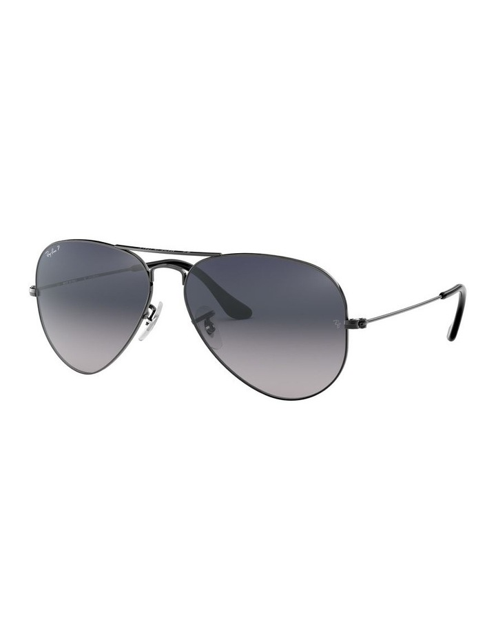 Aviator Large Metal Polarised Blue Sunglasses 0RB3025 1062740021 image 1