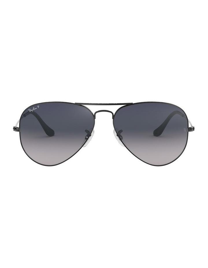 Aviator Large Metal Polarised Blue Sunglasses 0RB3025 1062740021 image 2