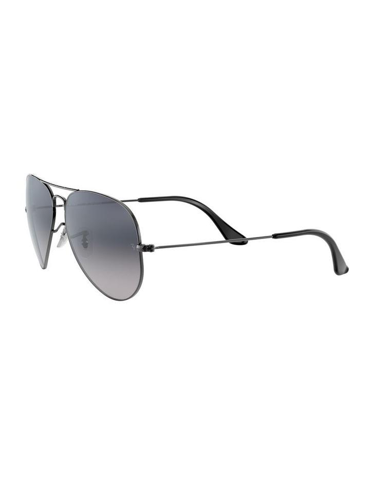 Aviator Large Metal Polarised Blue Sunglasses 0RB3025 1062740021 image 3