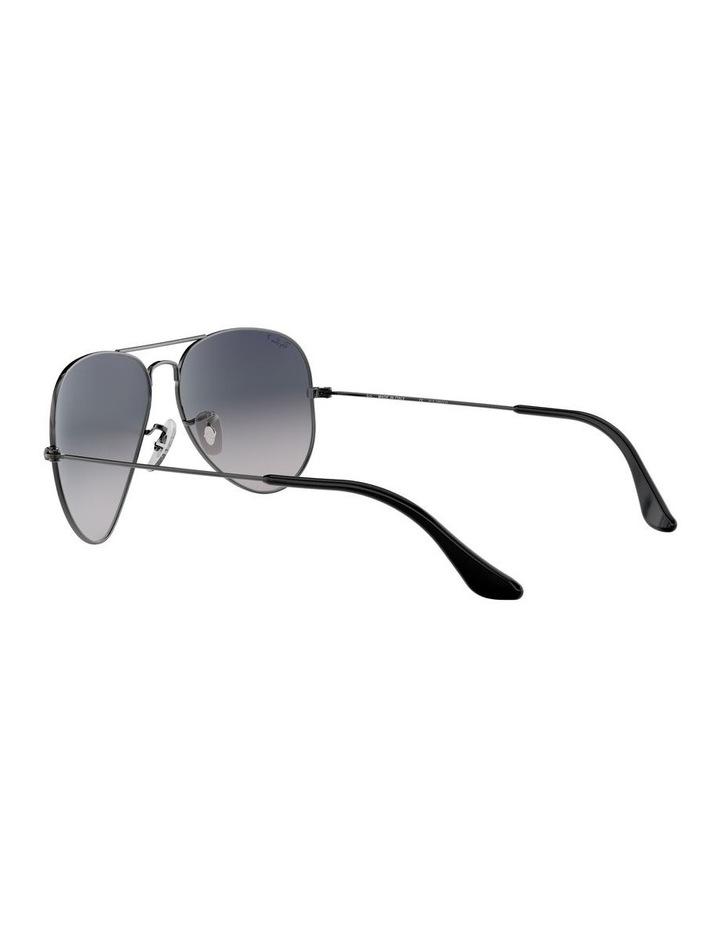 Aviator Large Metal Polarised Blue Sunglasses 0RB3025 1062740021 image 5