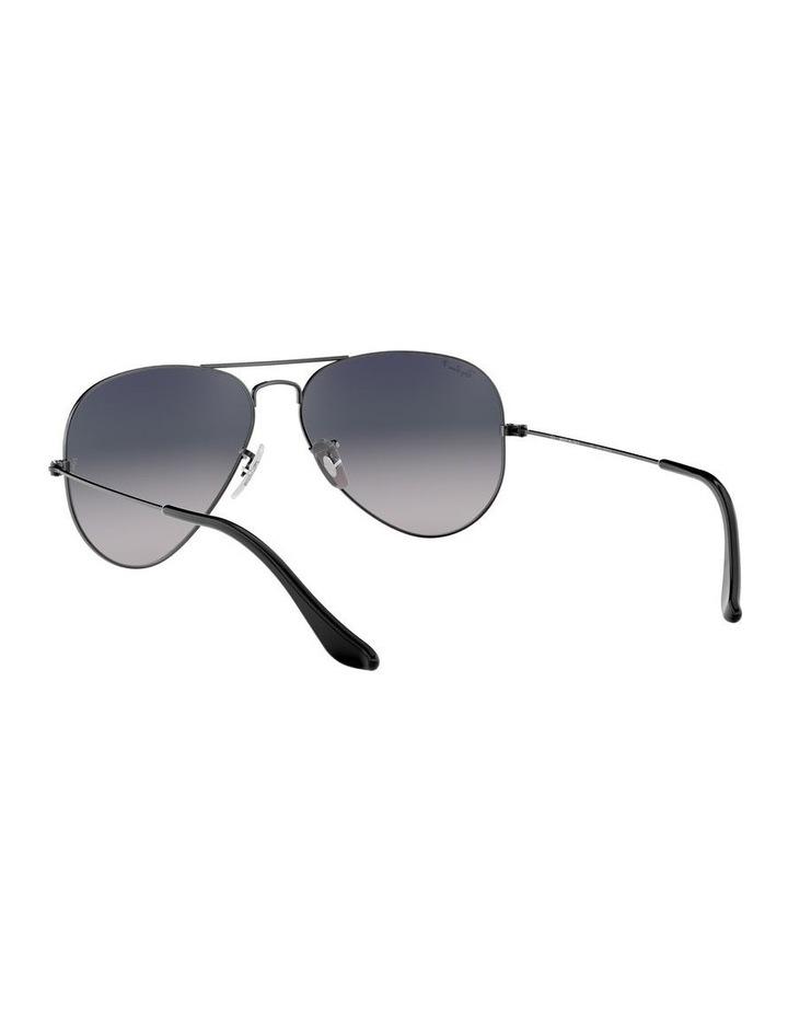 Aviator Large Metal Polarised Blue Sunglasses 0RB3025 1062740021 image 6