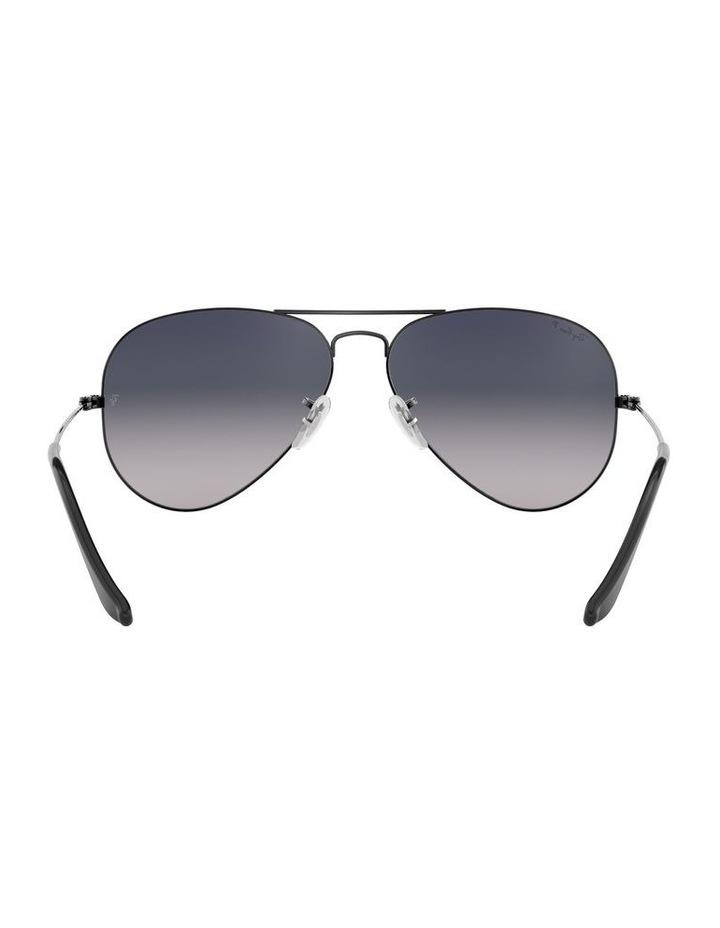 Aviator Large Metal Polarised Blue Sunglasses 0RB3025 1062740021 image 7