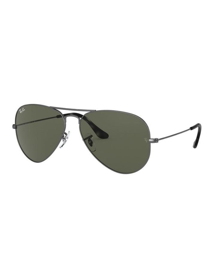 Aviator Large Metal Green Sunglasses 0RB3025 1062740066 image 1