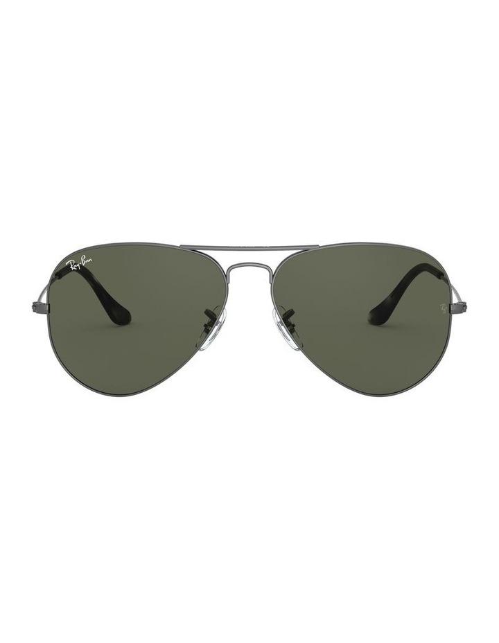 Aviator Large Metal Green Sunglasses 0RB3025 1062740066 image 2