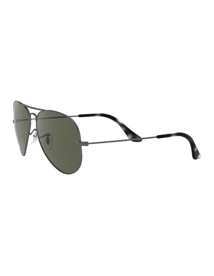 Aviator Large Metal Green Sunglasses 0RB3025 1062740066 image 3