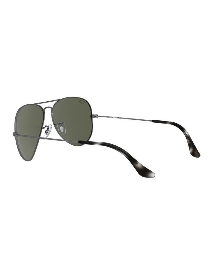 Aviator Large Metal Green Sunglasses 0RB3025 1062740066 image 5