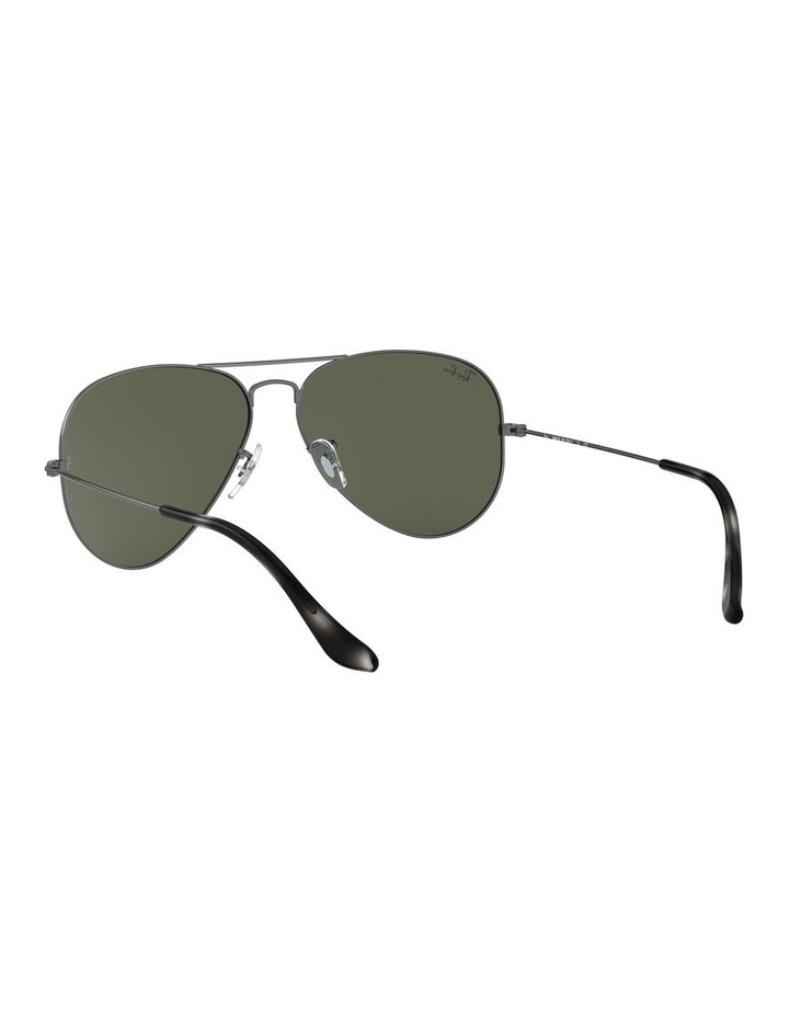 Aviator Large Metal Green Sunglasses 0RB3025 1062740066 image 6