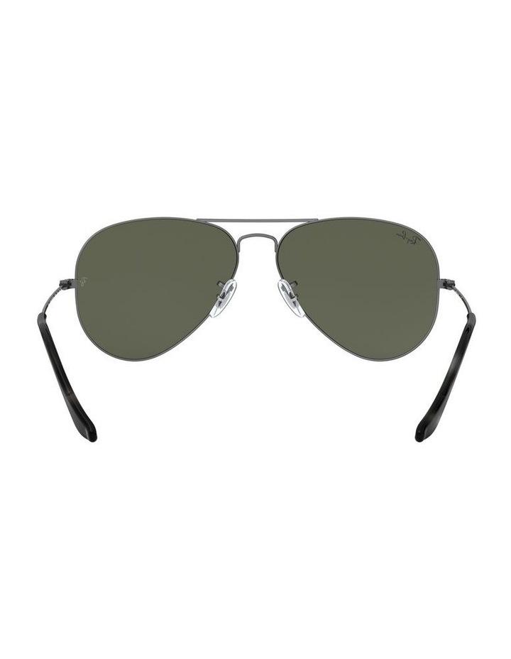 Aviator Large Metal Green Sunglasses 0RB3025 1062740066 image 7
