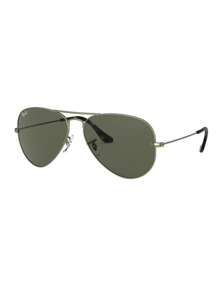 Aviator Large Metal Green Sunglasses 0RB3025 1062740067 image 1