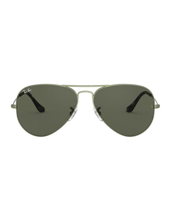 Aviator Large Metal Green Sunglasses 0RB3025 1062740067 image 2