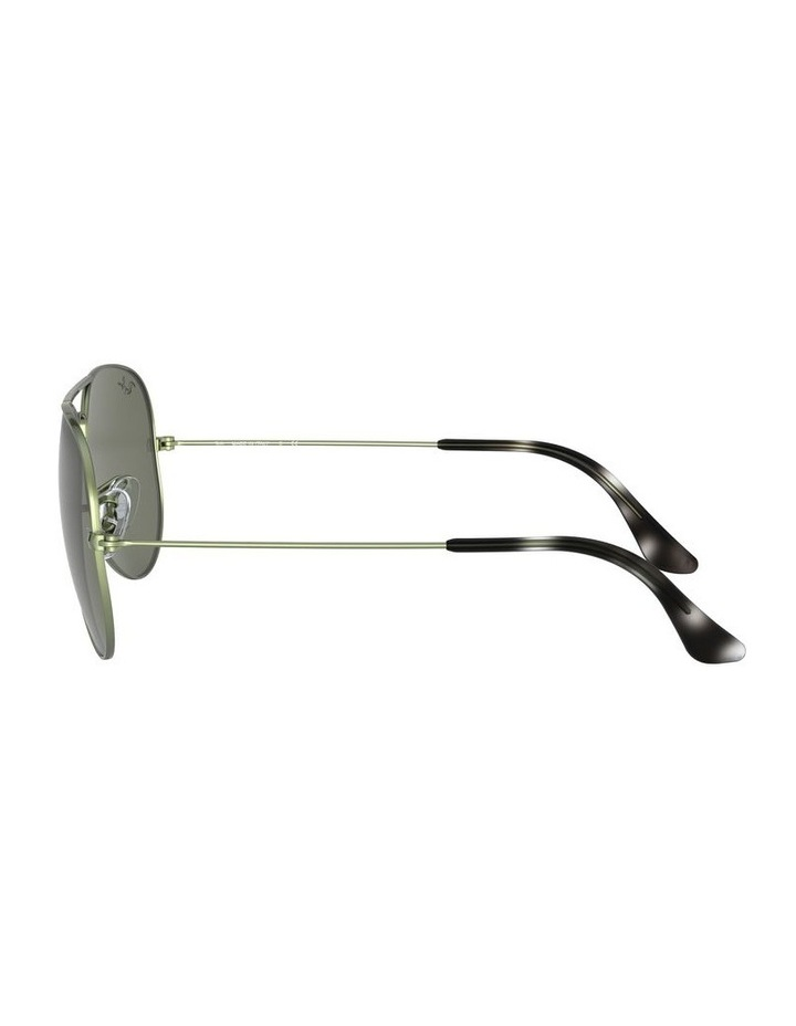 Aviator Large Metal Green Sunglasses 0RB3025 1062740067 image 4