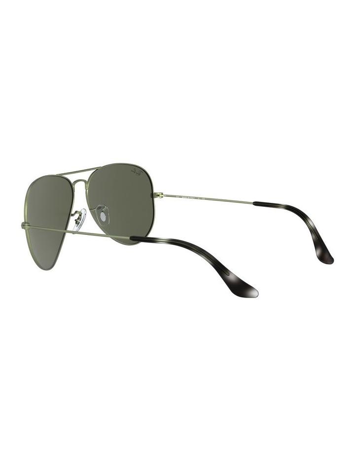 Aviator Large Metal Green Sunglasses 0RB3025 1062740067 image 5