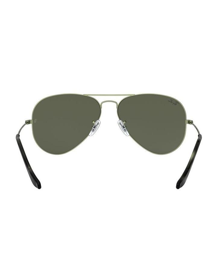 Aviator Large Metal Green Sunglasses 0RB3025 1062740067 image 7