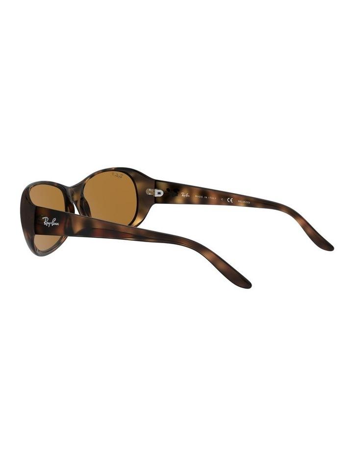 Polarised Brown Rectangle Sunglasses 0RB4061 1062934003 image 5