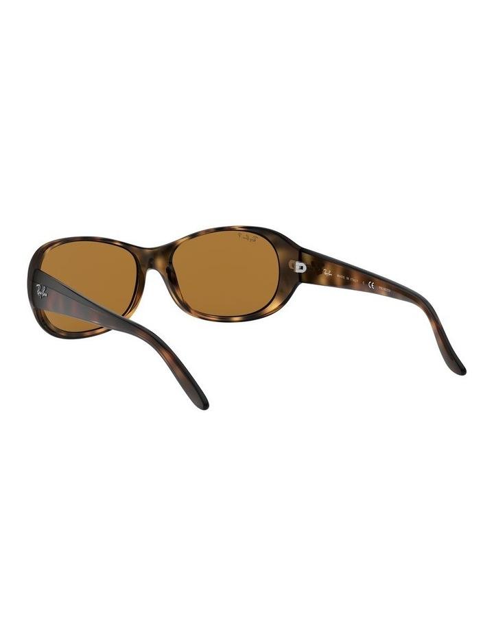 Polarised Brown Rectangle Sunglasses 0RB4061 1062934003 image 6