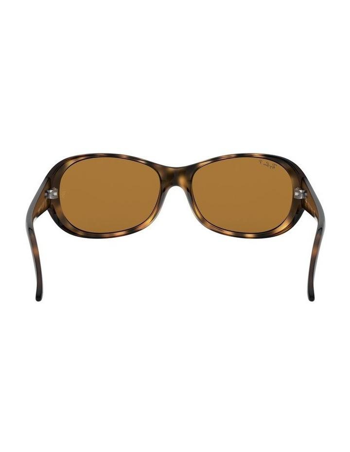 Polarised Brown Rectangle Sunglasses 0RB4061 1062934003 image 7