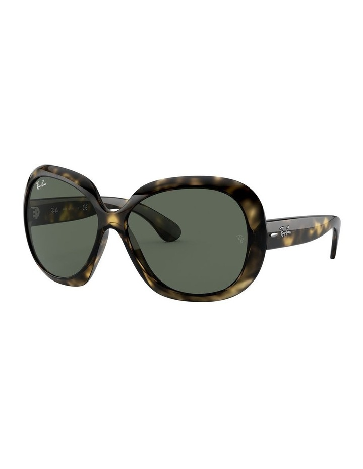 Jackie Ohh II Green Square Sunglasses 0RB4098 1062963013 image 1