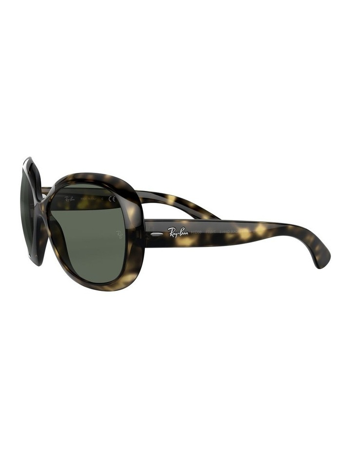 Jackie Ohh II Green Square Sunglasses 0RB4098 1062963013 image 3