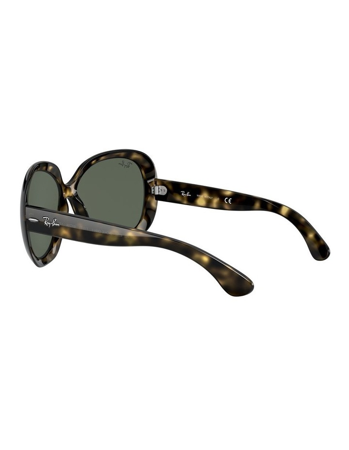 Jackie Ohh II Green Square Sunglasses 0RB4098 1062963013 image 5