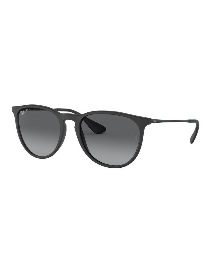 Erika Polarised Grey Keyhole Bridge Sunglasses 0RB4171 1098371045 image 1