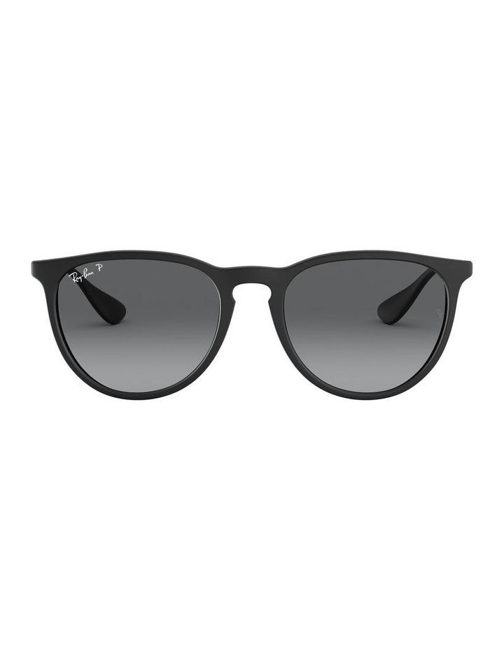 Erika Polarised Grey Keyhole Bridge Sunglasses 0RB4171 1098371045 image 2