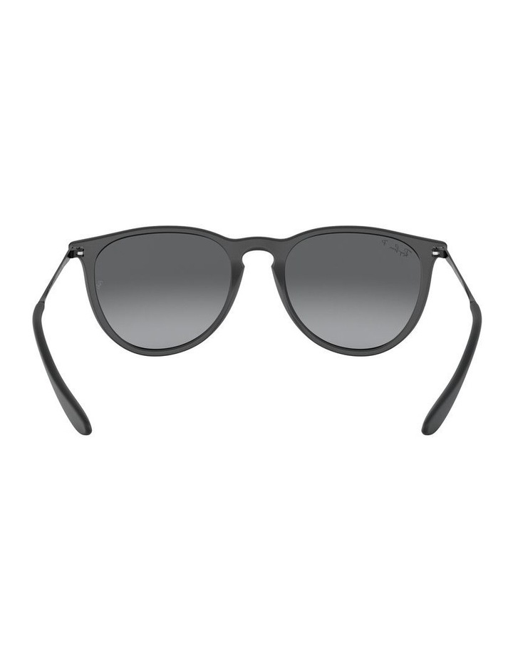 Erika Polarised Grey Keyhole Bridge Sunglasses 0RB4171 1098371045 image 7