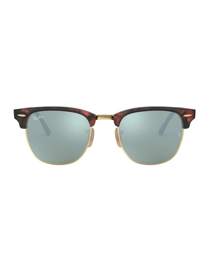 Clubmaster Green Sunglasses 0RB3016 1130305012 image 2