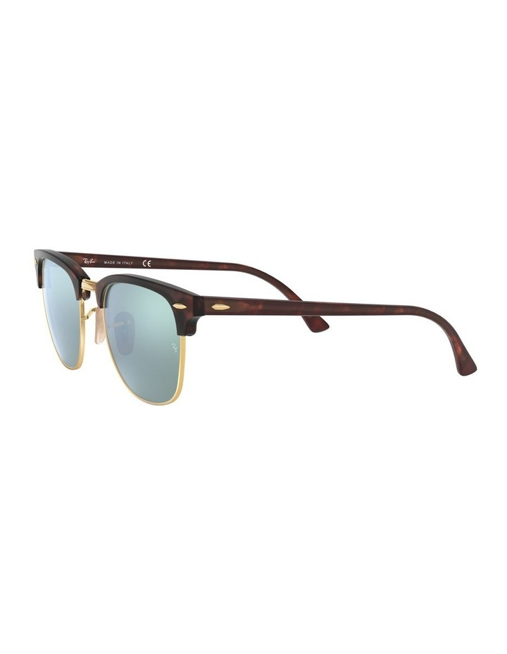 Clubmaster Green Sunglasses 0RB3016 1130305012 image 3