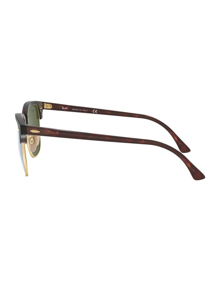 Clubmaster Green Sunglasses 0RB3016 1130305012 image 4