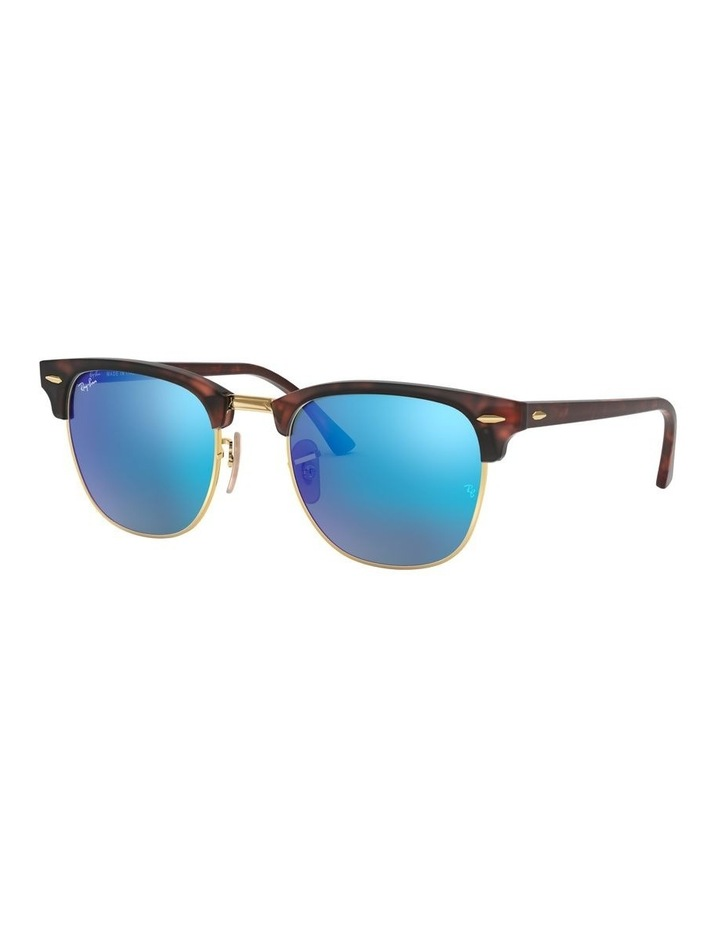 Clubmaster Blue Sunglasses 0RB3016 1130305013 image 1
