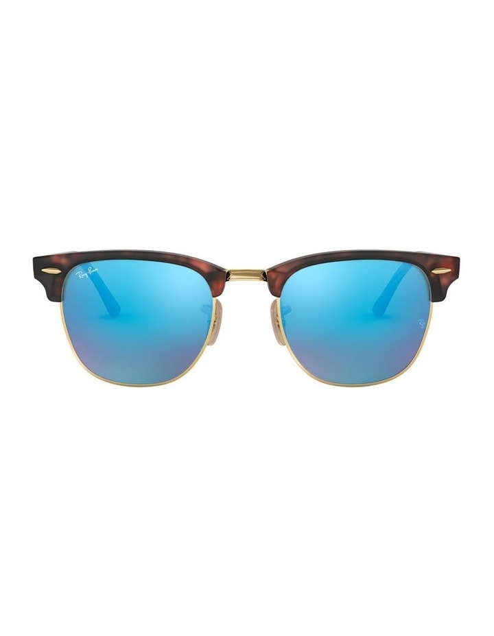 Clubmaster Blue Sunglasses 0RB3016 1130305013 image 2