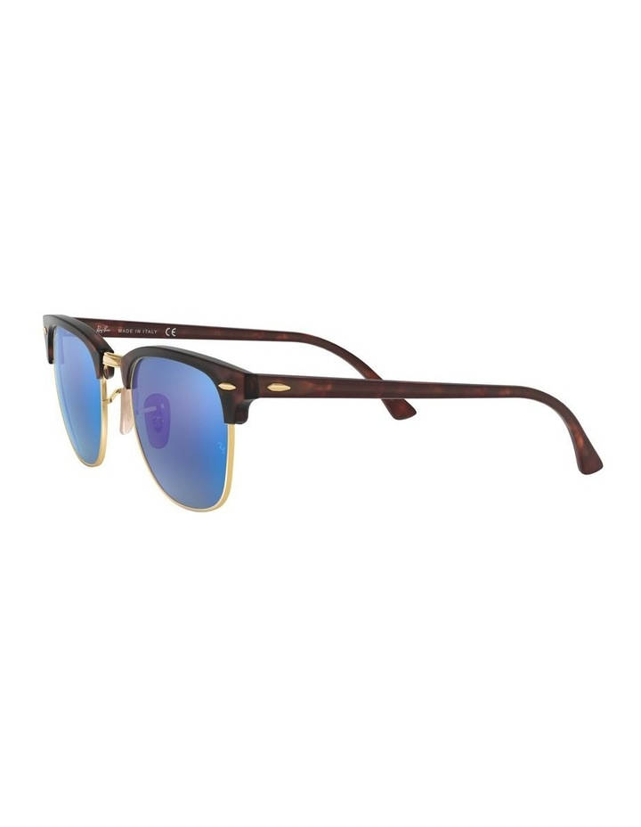 Clubmaster Blue Sunglasses 0RB3016 1130305013 image 3