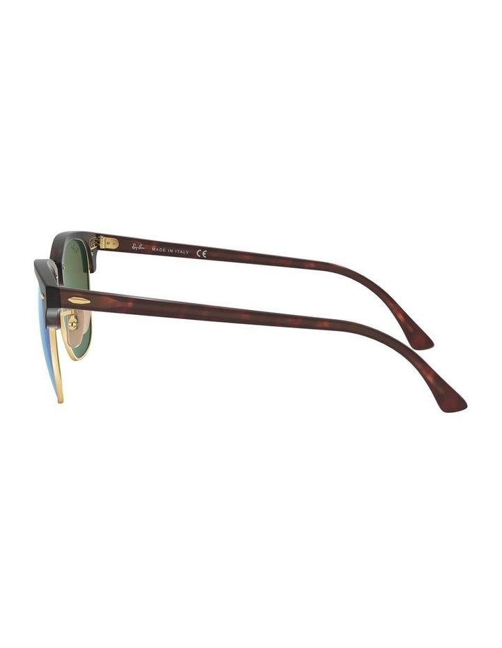 Clubmaster Blue Sunglasses 0RB3016 1130305013 image 4