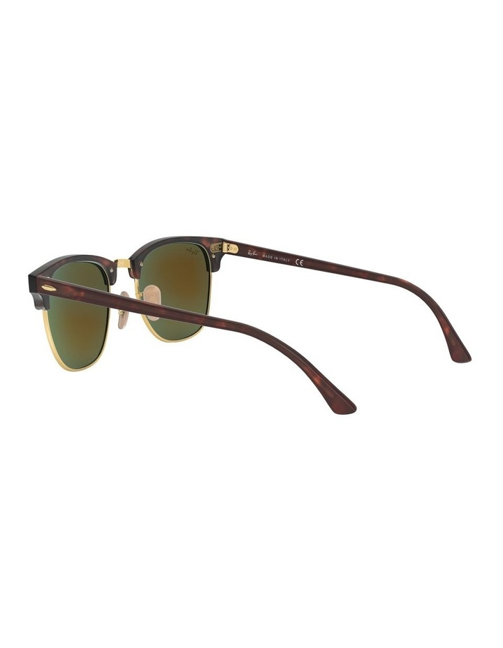 Clubmaster Blue Sunglasses 0RB3016 1130305013 image 5