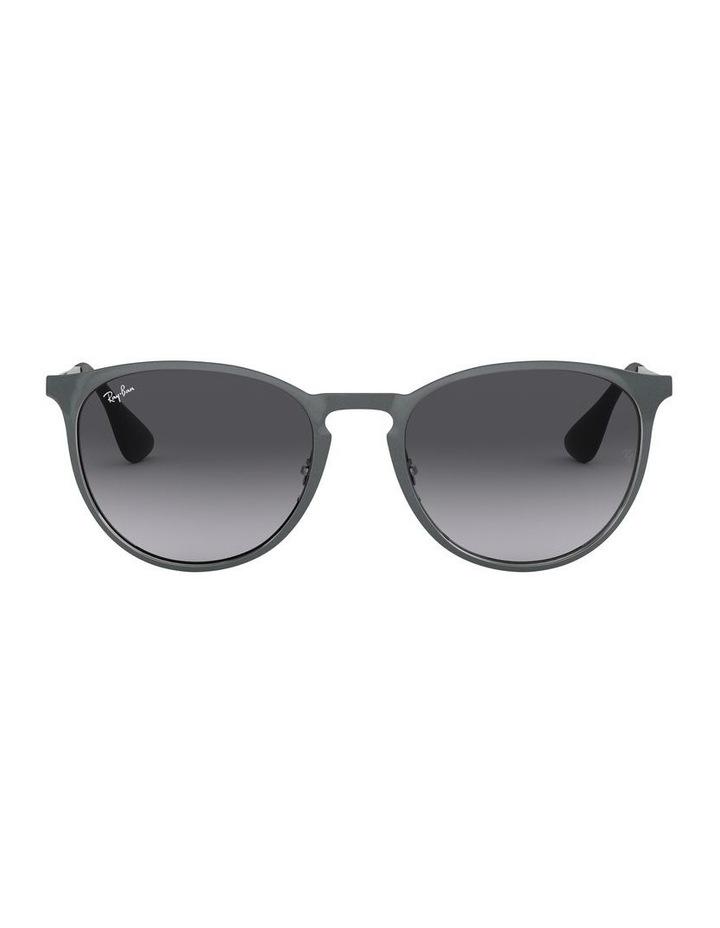 Erika Metal Grey Keyhole Bridge Sunglasses 0RB3539 1509984002 image 2