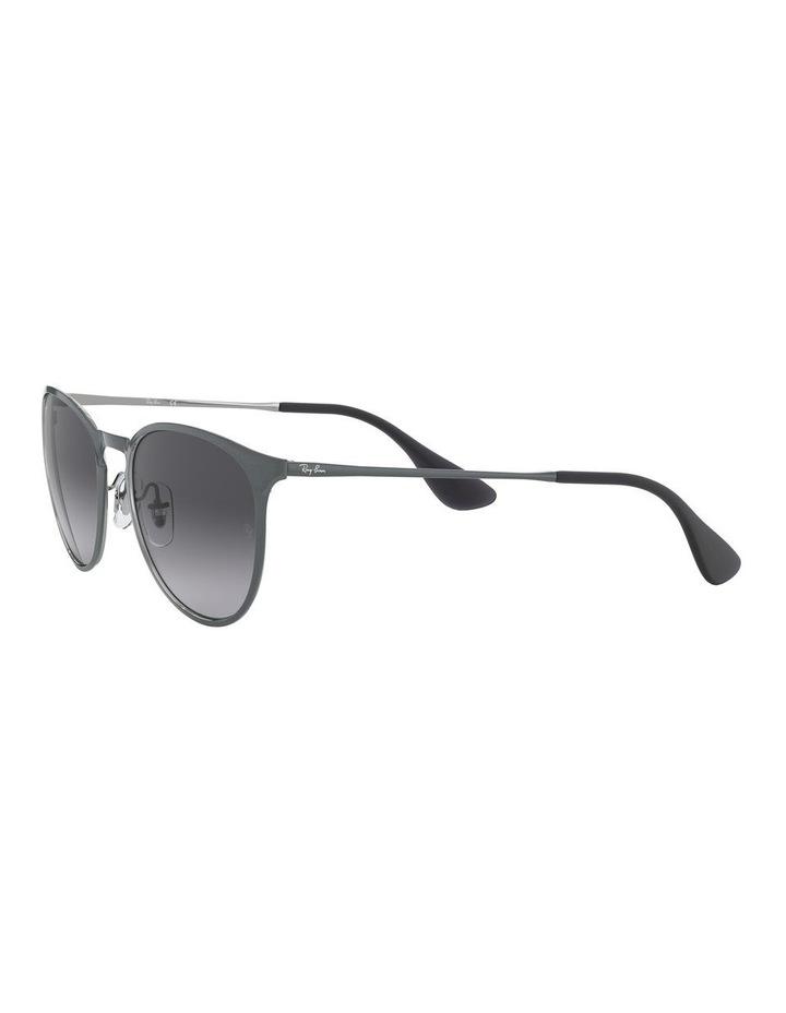 Erika Metal Grey Keyhole Bridge Sunglasses 0RB3539 1509984002 image 3