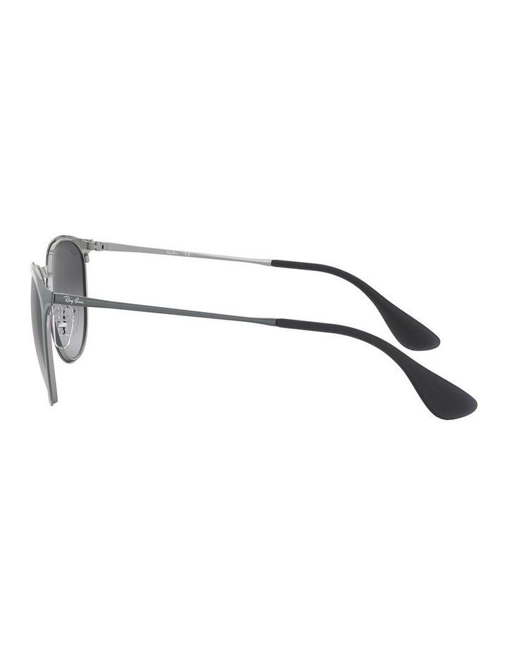 Erika Metal Grey Keyhole Bridge Sunglasses 0RB3539 1509984002 image 4