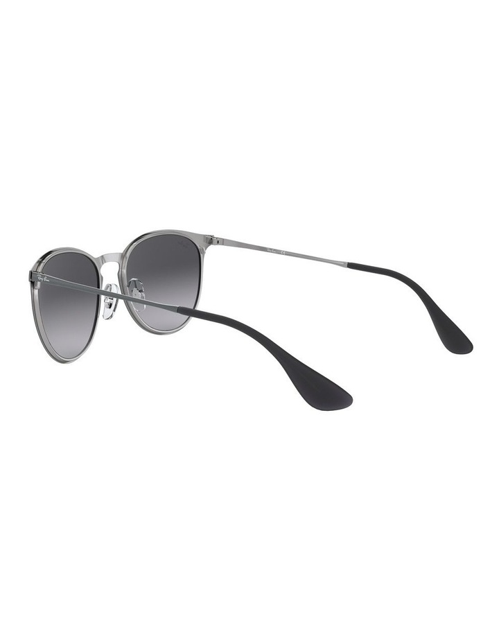 Erika Metal Grey Keyhole Bridge Sunglasses 0RB3539 1509984002 image 5