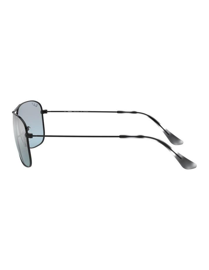 Polarised Brown Rectangle Sunglasses 0RB3543 1510022005 image 4
