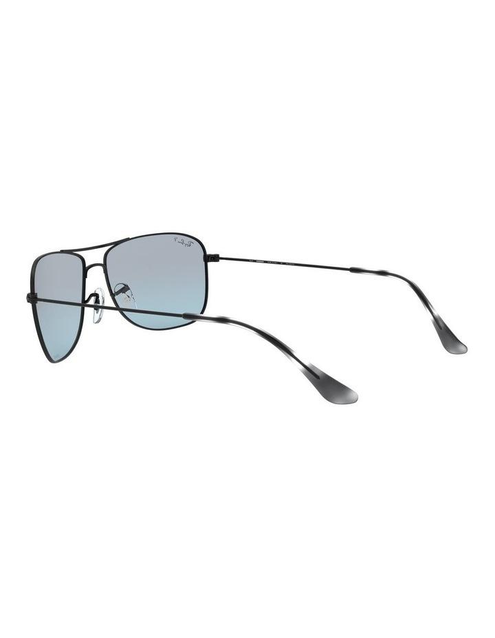 Polarised Brown Rectangle Sunglasses 0RB3543 1510022005 image 5