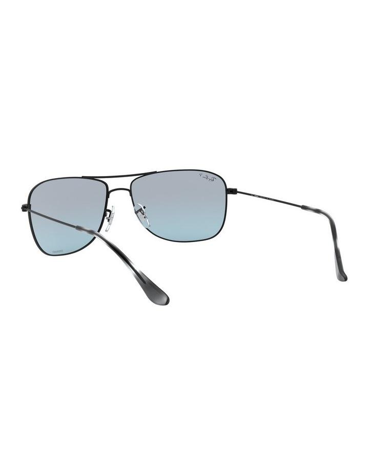 Polarised Brown Rectangle Sunglasses 0RB3543 1510022005 image 6