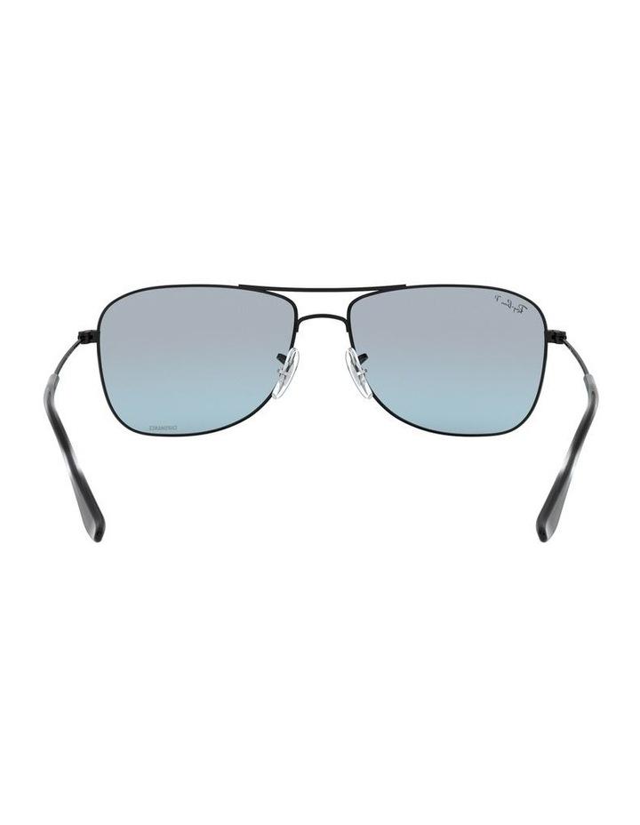 Polarised Brown Rectangle Sunglasses 0RB3543 1510022005 image 7