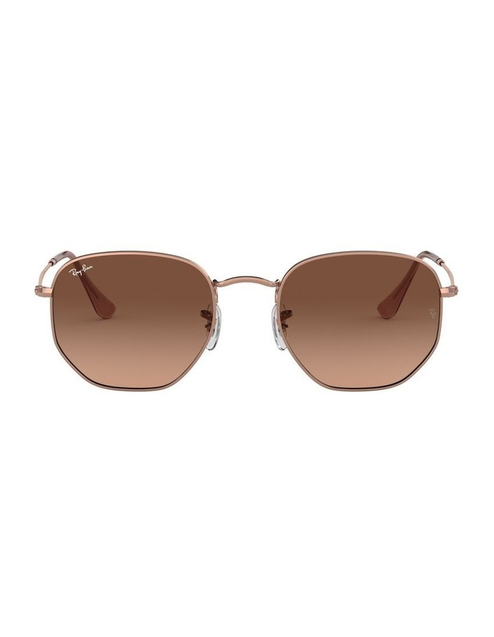 Hexagonal Brown Sunglasses 0RB3548N 1511212023 image 2