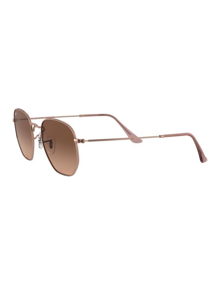 Hexagonal Brown Sunglasses 0RB3548N 1511212023 image 3