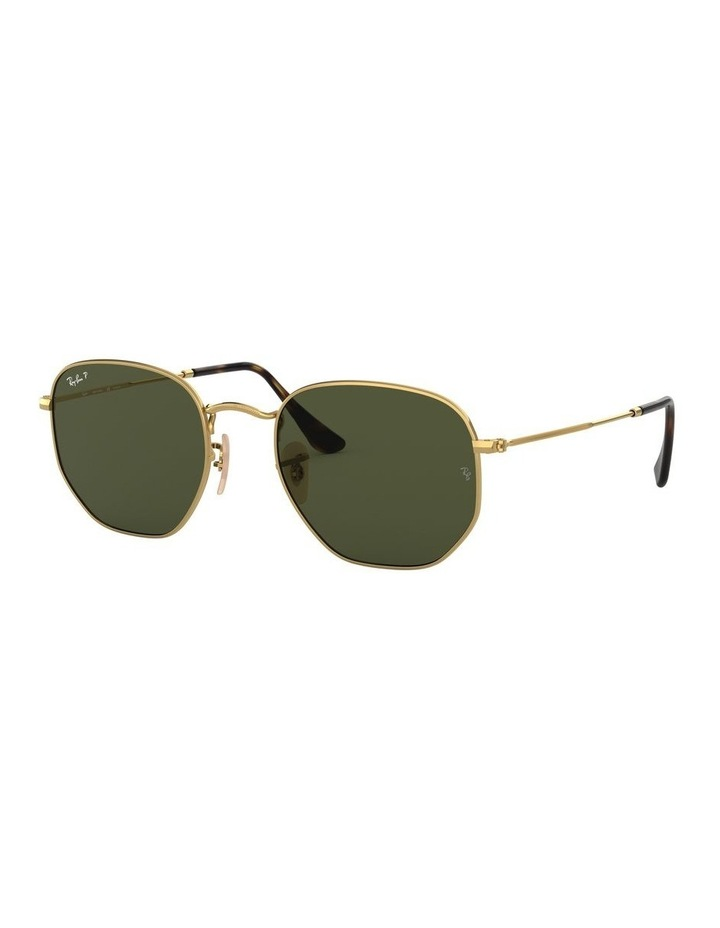 Hexagonal Polarised Green Sunglasses 0RB3548N 1511212025 image 1