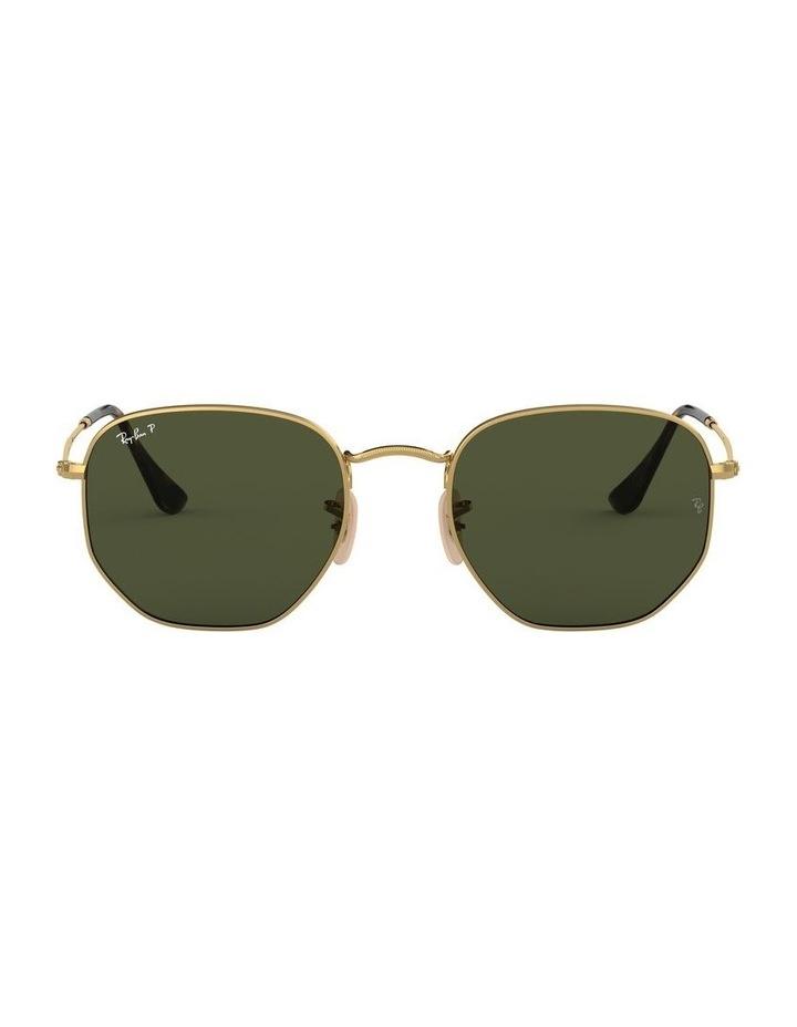 Hexagonal Polarised Green Sunglasses 0RB3548N 1511212025 image 2