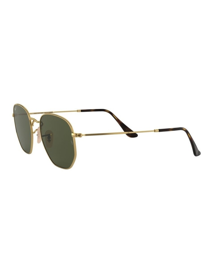 Hexagonal Polarised Green Sunglasses 0RB3548N 1511212025 image 3